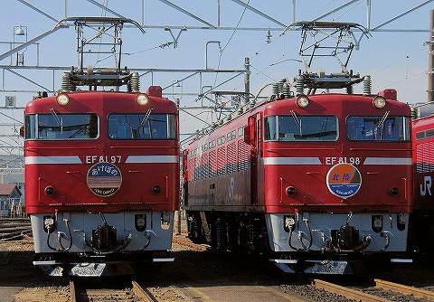 EF81-97&EF81-98@田端運転所'13.12.7
