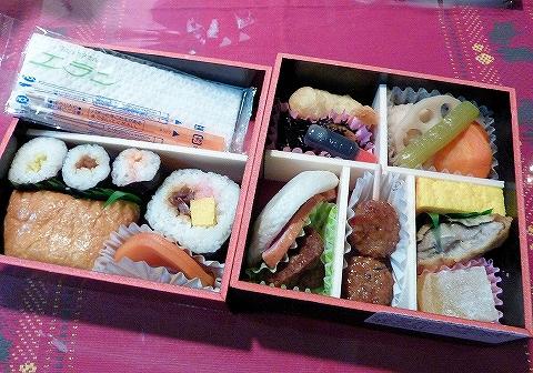 夕刊フジおつまみ弁当'13.12.27