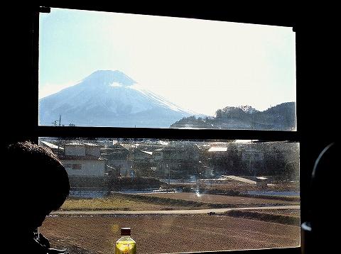 富士登山電車車窓'13.12.24