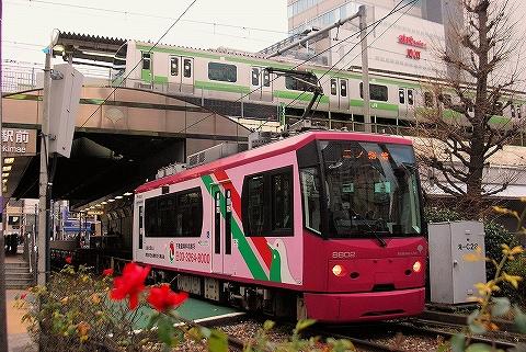 E231系&都電8800形@大塚'14.1.5
