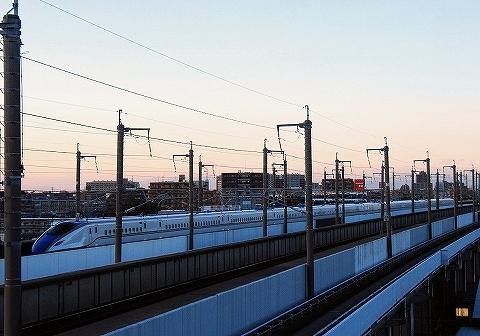 E7系@鉄道博物館'14.1.17