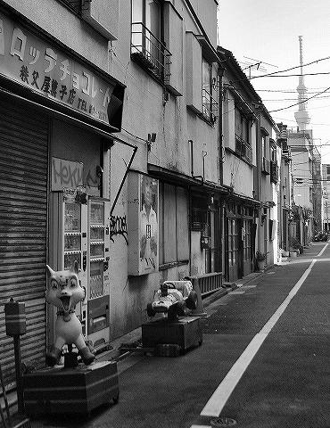 遊具@いろは会商店街'14.1.18