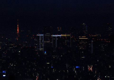 天望デッキからの眺め@東京スカイツリー'14.1.25