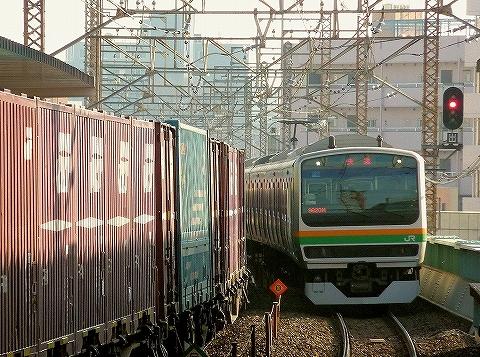 E231系@武蔵浦和'14.1.26