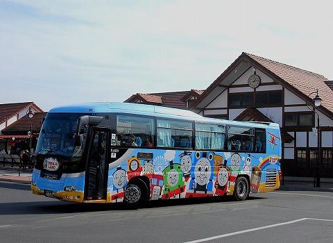 富士急バス@河口湖'14.2.1