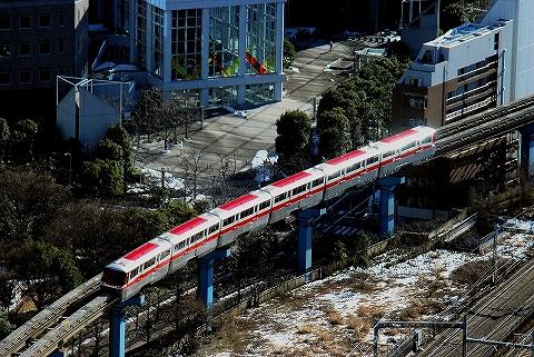 東京モノレール1000形@浜松町'14.2.16