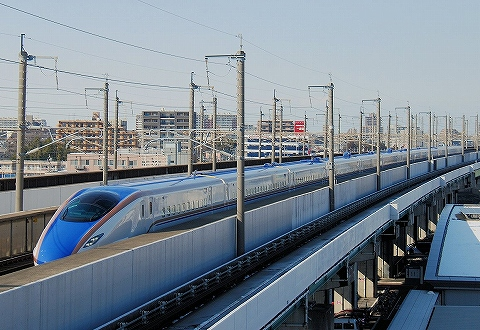 E7系@鉄道博物館'14.2.17