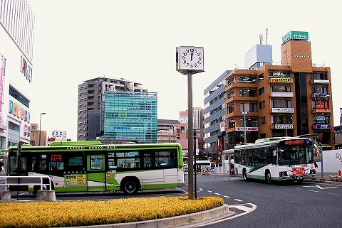 国際興業バス@浦和駅東口'14.2.23