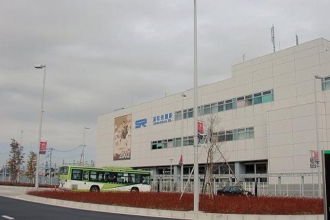 浦和美園駅西口'14.2.23