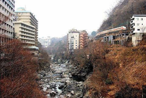 東武100系@鬼怒川温泉'14.3.1-1