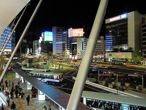 東京駅八重洲南口バスターミナル'14.3.8