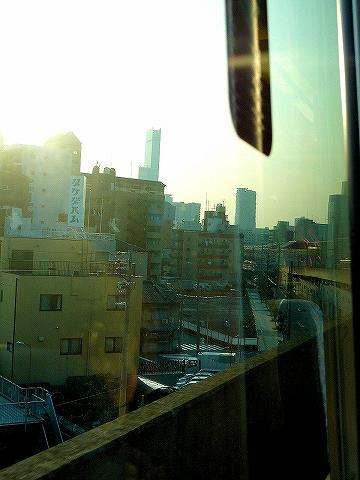 あべのハルカス@大阪環状線車内'14.3.9