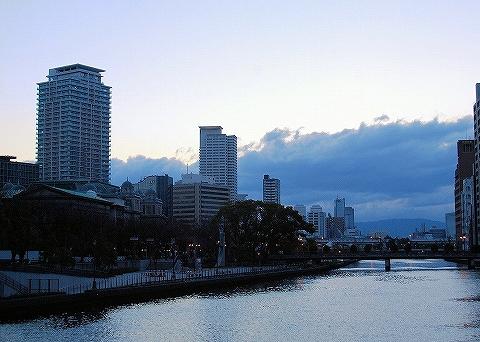 淀屋橋からの眺め'14.3.10