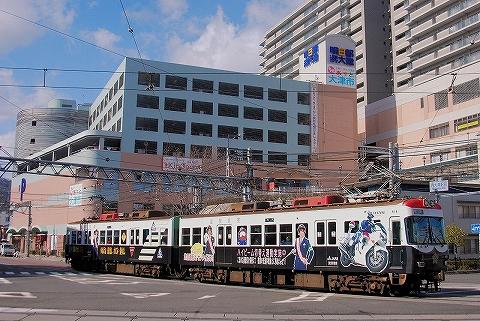 京阪600形@浜大津'14.3.10-2
