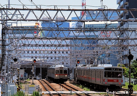 東急1000系&7700系@蒲田'14.5.10