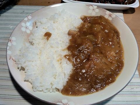 C&C新宿カレー調理例