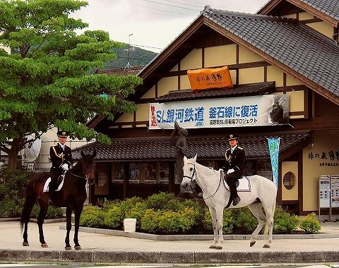 騎馬警察@遠野'14.6.14