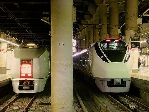 651系&E657系@上野'14.6.16