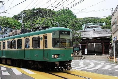 江ノ電1000形@江ノ島'14.6.21