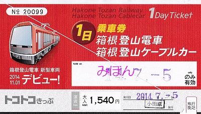 トコトコきっぷ'14.7.5
