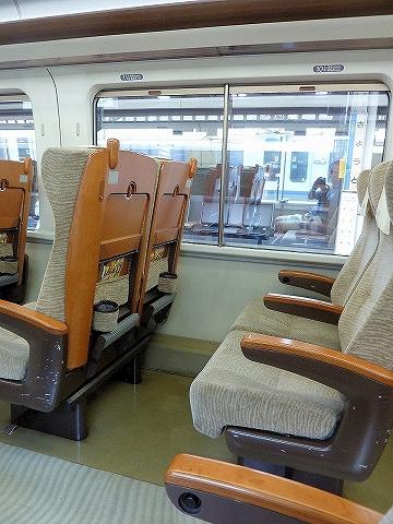 智頭急行HOT7000系座席'14.7.11