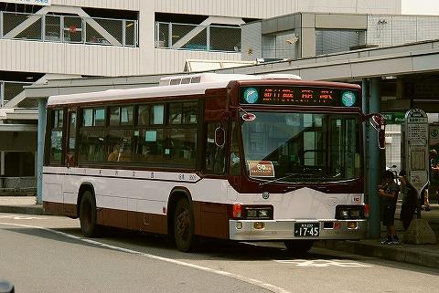国際興業バス@飯能駅前'14.7.20-2