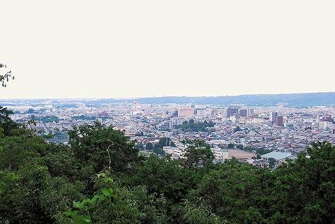 天覧山山頂からの眺め'14.7.20