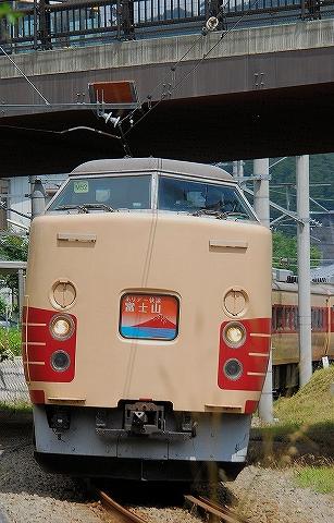 ホリデー快速富士山1号@富士山'14.7.21