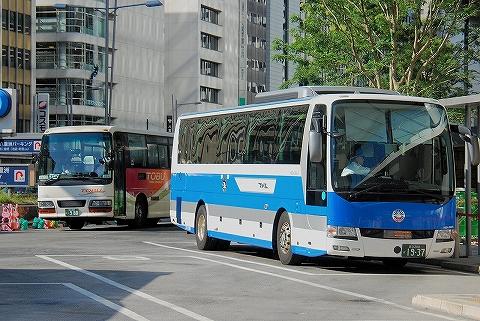 JRバス関東&東武バス@東京駅八重洲南口'14.8.3