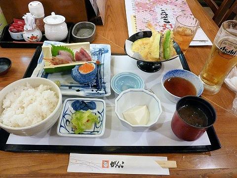 刺身定食@がんこ'14.8.3
