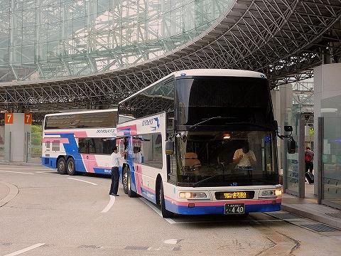 西日本JRバス@金沢駅東口'14.8.4