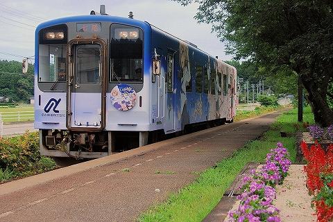 のと鉄道NT200形@笠師保'14.8.4-2