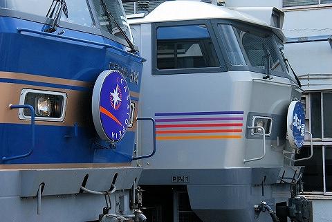 EF510‐509&EF510‐514@田端運転所'14.9.6