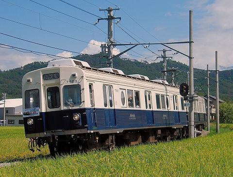 上田7200系@下之郷'14.9.7-3