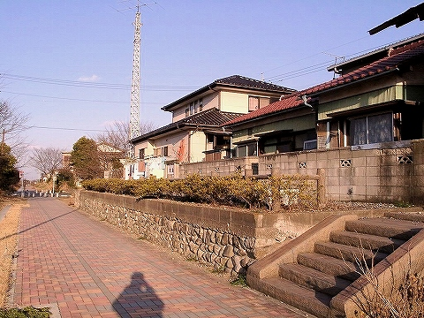 寄島駅跡'02.1