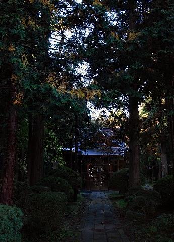 医薬神社@薬師堂'14.10.26