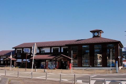 矢島駅舎'14.10.26