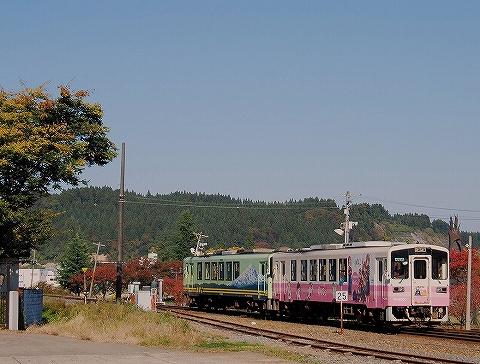 由利高原鉄道YR2000形@矢島'14.10.26