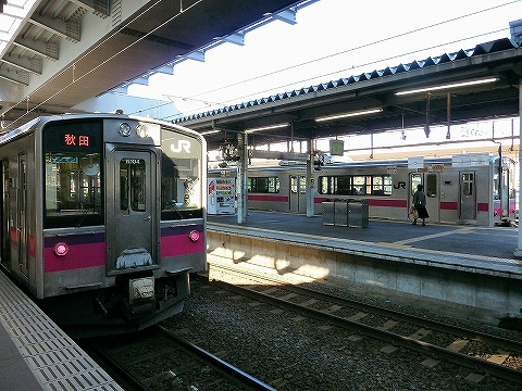 701系@秋田'14.10.26