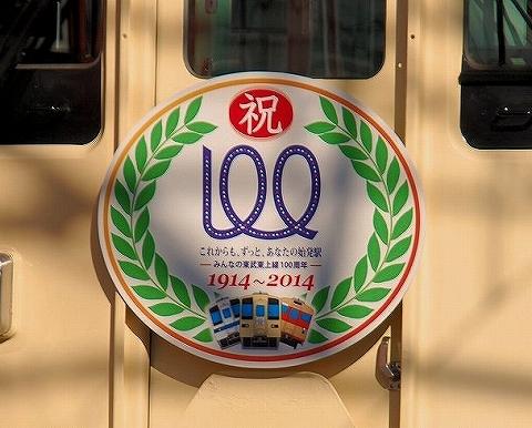 東上線開業100周年記念HM'14.11.16