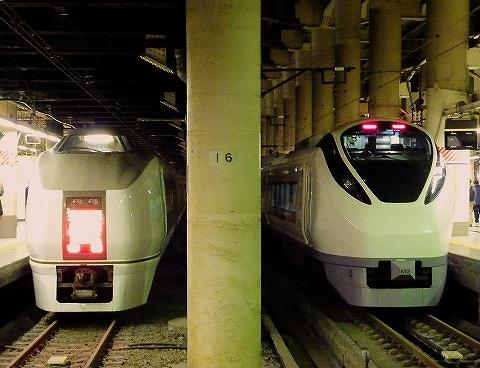651系&E657系@上野'14.11.27