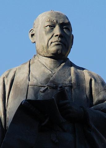 大石内蔵助銅像@泉岳寺'14.11.27