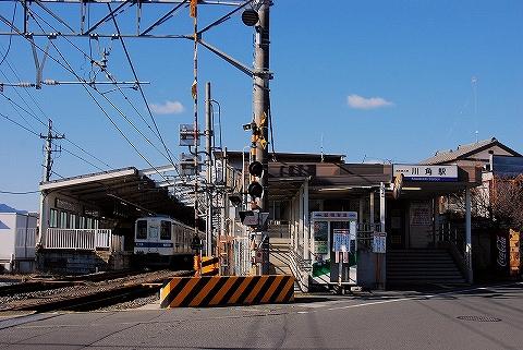 川角駅舎'14.12.27