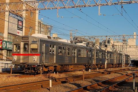 東急7700系@蒲田'15.1.3