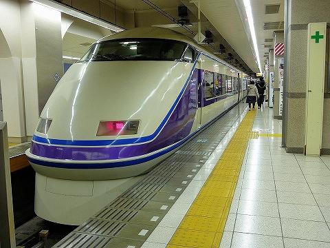 東武100系@浅草'15.1.17