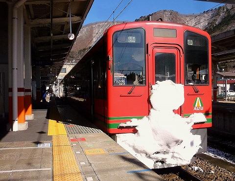 会津鉄道AT-701@鬼怒川温泉'15.1.18
