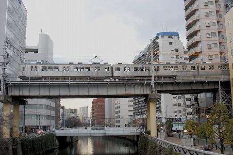 東急7700系@五反田'15.2.7