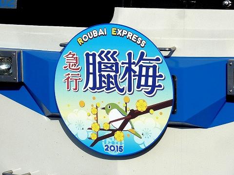 急行ロウバイ号HM'15.2.11-2
