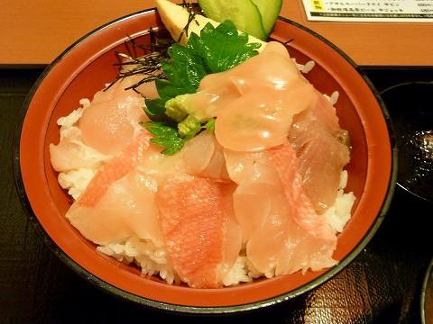 海鮮丼@さかなや道場'15.3.22