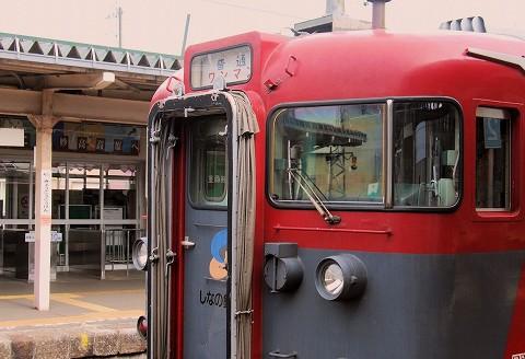 しなの鉄道115系@妙高高原'15.4.19